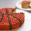 Tarta de cumpleaños de baloncesto