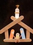 Un portal de Navidad fácil para hacer con niños