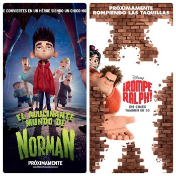 Estrenos de cine infantil en Navidad