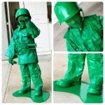 Un disfraz de soldadito de Toy Story