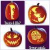 Plantillas gratis para hacer calabazas de Halloween