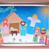 Recortable navideño gratis del portal de Belén