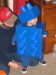 Cómo hacer un disfraz casero de Lego