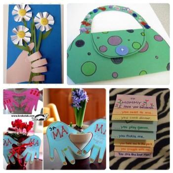 4 tarjetas para el Día de la Madre