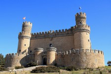 Castillo de Manzanares El Real, excursión con niños en Madrid