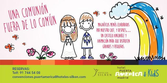 Celebra tu Comunión, Hotel Silken Puerta América