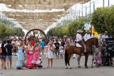 A la Feria de Málaga 2013 ¡con niños!