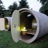 ¿Dormirías en una tubería de desagüe?