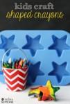 Manualidad infantil: ¡ceras multicolores!