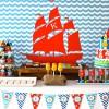 Fiesta de cumpleaños de Jake y los Piratas