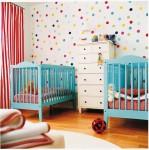 Cómo decorar la habitación de bebés gemelos