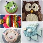 5 tartas de cumpleaños fáciles de animales