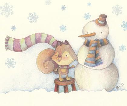 """Cuentos de Navidad: """"El rincón de nieve"""""""