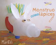 Manualidades para niños: Monstruo portalápices