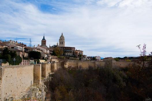 Viajar con niños a Segovia