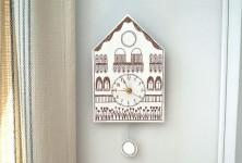 Un reloj de cuco ¡para imprimir gratis!