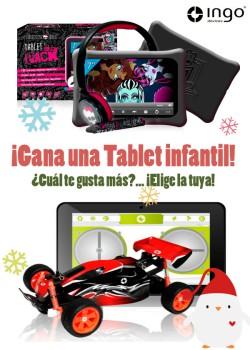SORTEO: ¡¡Regalamos una Tablet infantil!!