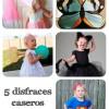 5 disfraces caseros para niñas