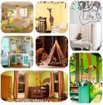7 habitaciones infantiles con decoración de jungla