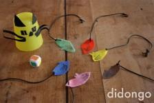 Juego infantil de gatos y ratones, ¡manualidad fácil!
