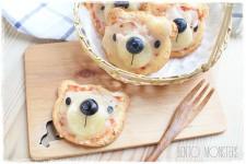 Pizzas divertidas para niños: ¡ositos!