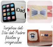 3 tarjetas del Día del Padre fáciles y originales
