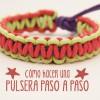 Cómo hacer una pulsera con cordones ¡vídeo tutorial!