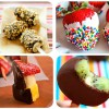 4 recetas divertidas de fruta y chocolate