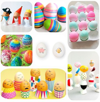 7 ideas para decorar huevos de Pascua