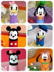 Huevos decorados con Mickey Mouse y sus amigos
