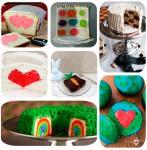7 recetas de bizcochos y tartas ¡con sorpresa!