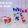 Fiestas infantiles: bolsitas de tela para chuches