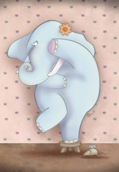 """Cuento en inglés: """"Elephant Amaranta's Fear"""""""