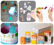 Manualidades con papel: 5 juegos para niños