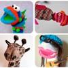 Manualidades para niños: marionetas con calcetines