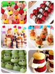6 recetas fáciles para niños: ¡brochetas!
