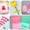 5 tarjetas del Día de la Madre ¡muy fáciles!
