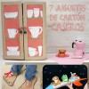 Manualidades con cartón: 7 juguetes caseros