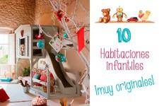 10 habitaciones infantiles ¡muy originales!