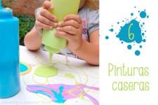 Manualidades infantiles, 6 pinturas caseras