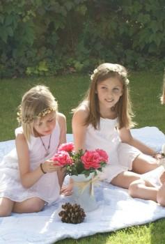Coronas de flores para el pelo, ¡qué bonitas!