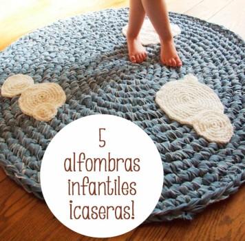5 alfombras infantiles ¡caseras!