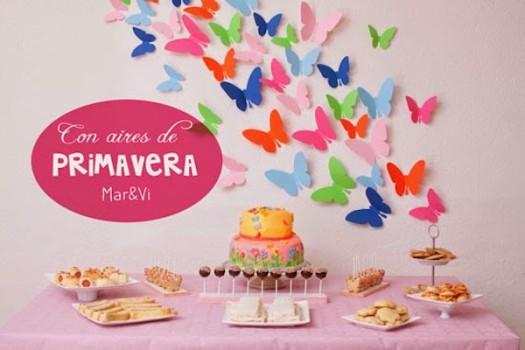 Fiestas infantiles, un cumpleaños primaveral