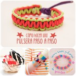 Hacer pulseras, una manualidad infantil divertida