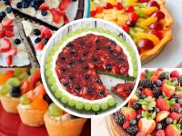 Tarta de frutas: 5 recetas fáciles