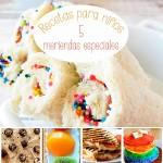 Recetas para niños, 5 meriendas ¡muy especiales!