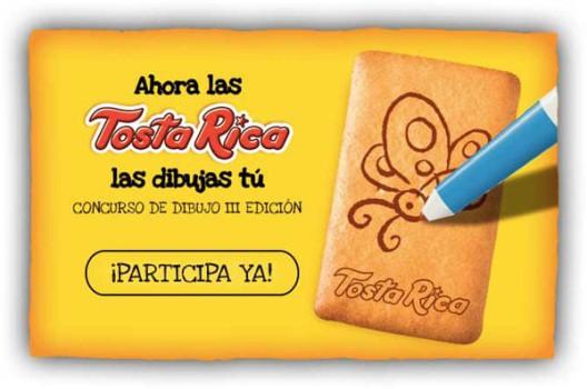 Ahora las TostaRica las dibujas tú… ¡Participa y gana!