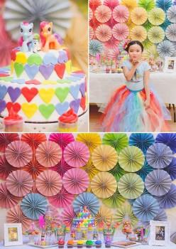 Fiestas infantiles, ¡un cumpleaños de Little Pony!