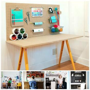 Habitaciones infantiles, ¡escritorios en orden!