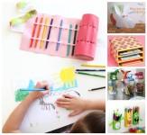 5 manualidades infantiles para mantener el orden
